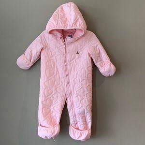 Pink Baby Gap snow suit